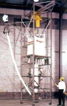 Bulk Bag Discharger performs gravimetric discharging.