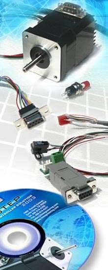 Motor/Controller Kit offers fully programmable functions.