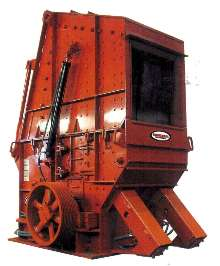 Steel Impact Crusher can crush up to 1,400 short tons/hr.