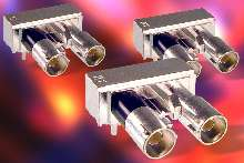 RF connectors are suited for vehicle applications.