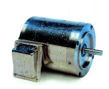 Stainless Steel Motors withstand washdown environments.