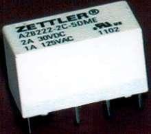 Telecom Relay suits low power consumption designs.