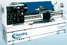 Engine Lathes feature electronic variable speed drive.