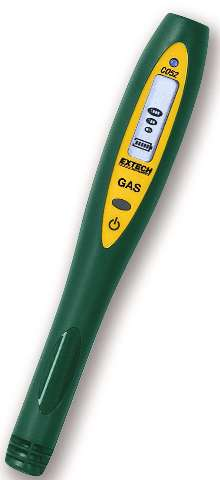 Flammable Gas Leak Detector offers one button operation.