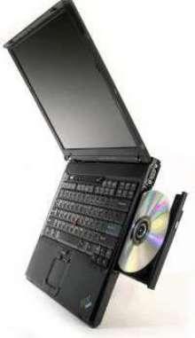 Notebook Computer features lightweight design.