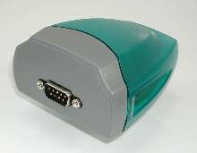 Adapter provides long-distance communication for laptops.