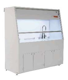 Fume Hoods provide operator safety.