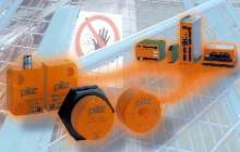Magnetic Safety Switch provides safety gate monitoring.