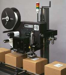 Label Printer Applicator is offered with air cutoff valve.