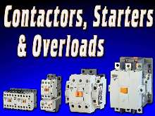 Contactors/Overloads offer switching currents up to 900 A.