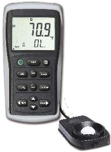 Light Meter stores up to 50 measurements.