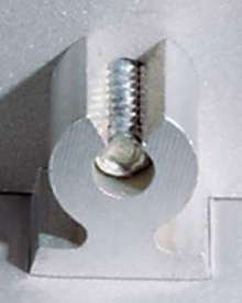 Right Angle Clinch Fasteners offer alternative to bent tabs.