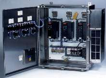 Panels offer complete machine and process control.