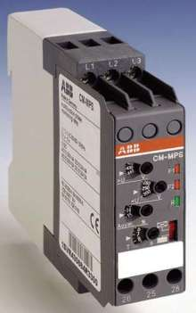 Voltage Monitor has 22 mm DIN rail mounting enclosure.
