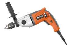 Electric Drill provides two variable speeds.