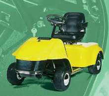 Industrial Vehicle aids physically challenged workers.