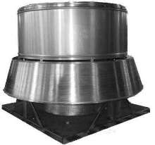 Power Roof Ventilator can be used with or without ducts.