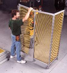 Modular Guarding System bolts together in minutes.