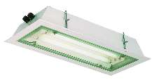 Fluorescent Luminaire withstands harsh conditions.