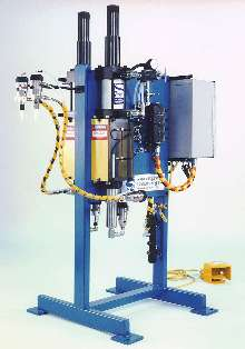 Dispense System produces large or small volumetric shots.