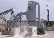 Reverse-Air Dust Collector has heavy-duty construction.