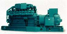Natural Gas Generator Sets produce low exhaust emissions.