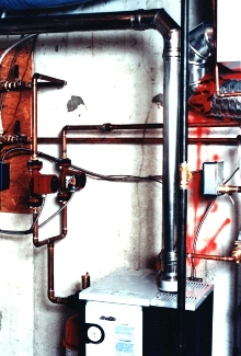 Gas Vent Heating System cuts installation time.