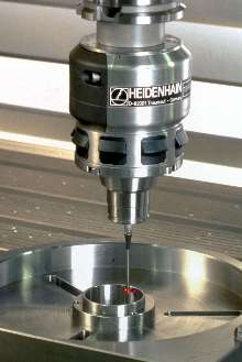 Touch Probe automates workpiece alignment and measurement.