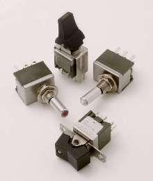 Miniature Illuminated Switches utilize LED technology.
