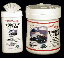 Presaturated Wipes safely clean grease, oil, and grime.
