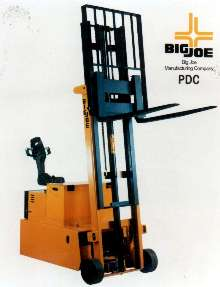 Walkie Lift Truck performs forklift operations.