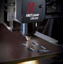 Laser Cutting System speeds cutting of plate steel.
