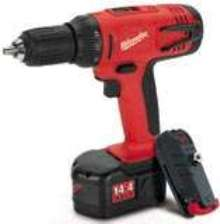 Cordless Driver/Drills have compact size.