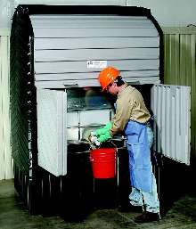 Storage System enables IBC storage indoors or out.
