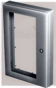 Window Kits/Handles accessorize enclosures.