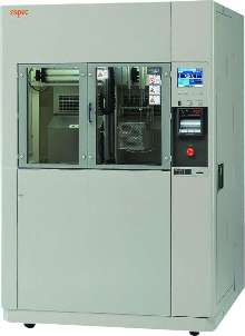 Test Chambers offer liquid-to-liquid thermal shock testing.