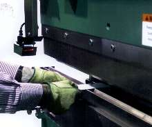 Safeguarding System is suited for hydraulic press brakes.