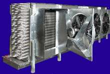 Evaporators suit industrial refrigeration applications.
