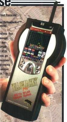 W-LAN Test Receiver offers internal GPS receiver.