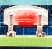 LED Module has 180° angle for high-intensity displays.