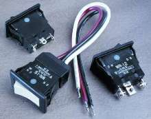 Rocker Switches are environmentally-sealed.