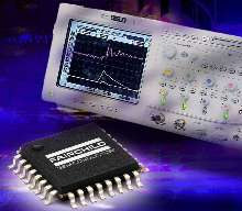 D/A Converter features low power dissipation.