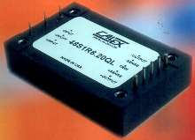 Quarter Brick DC/DC Converter is rated to 75 W.