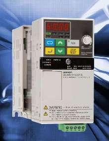 Inverter includes on-board PLC.