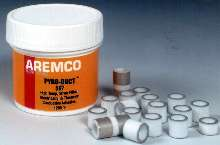 Silver-Filled Adhesive is used in applications to 1,200°F.