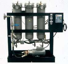 Oil Purification System offers flow rates from 600-1,000 gph.