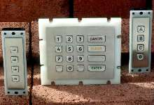 Keypads withstand harsh, public applications.