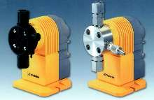Electronic Diaphragm Pump offers PVDF and SS liquid ends.