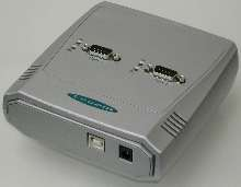 Serial-Port USB Adapters give laptops 2 serial ports.