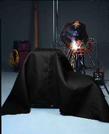 Safety Blanket protects against contact burn and sparks.